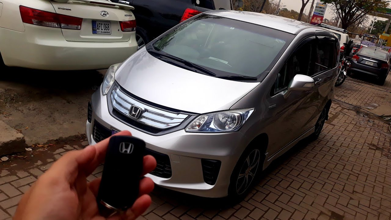 Honda Freed Hybrid 2012 Complete Review Youtube