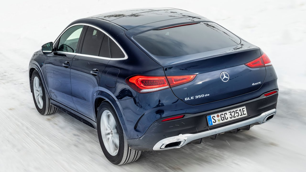 2020 Mercedes-Benz GLE 350de Coupe EQ Power plug-in hybrid ...