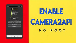 Enable Camera 2 API and Google Pixel Camera On Redmi Note5Pro