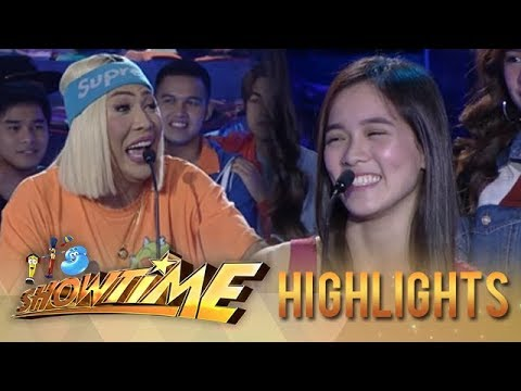 It's Showtime PUROKatatawanan: Vice Ganda almost breaks Jackque's joke