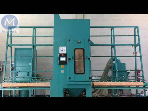 MHG Glassmaster, Automatic Glass Sandblaster From Matodi (USA And Canada)