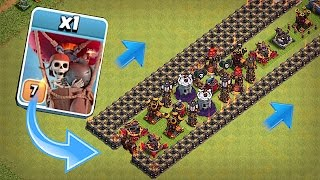 NEW AIR MAZE LVL 9 DEFENSE!!😀NEW MARCH UPDATE😀 Clash Of Clans