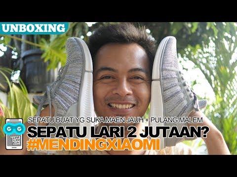 Sepatu Buat Lebaran! Unboxing Sepatu Canggih Xiaomi Mijia