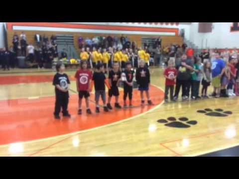 Oceanlake Elementary School second graders song 2