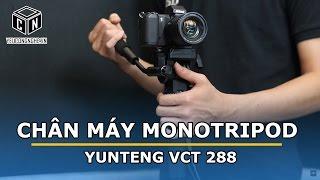 Chân máy Monotripod hỗ trợ quay phim Yunteng VCT 288