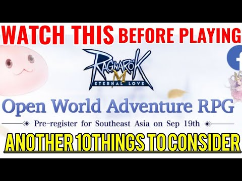 NEW to RAGNAROK M ETERNAL LOVE? WATCH THIS Another 10 things to consider