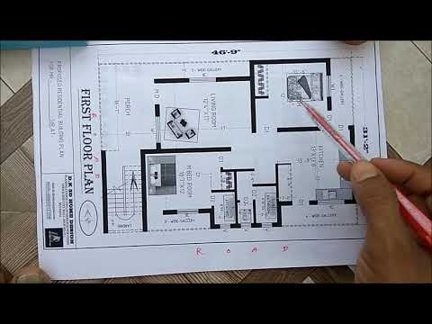 G+1 HOME PLAN FOR RENT PURPOSE