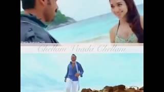 Siruthai Chellam Vaada Chellam Video Editing Watsapp Status | FanMade | Karthi Fans