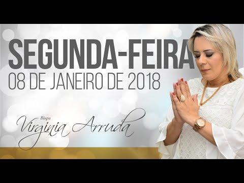 A Palavra do Dia - Segunda feira, 08 de janeiro de 2018 | Bispa Virginia Arruda