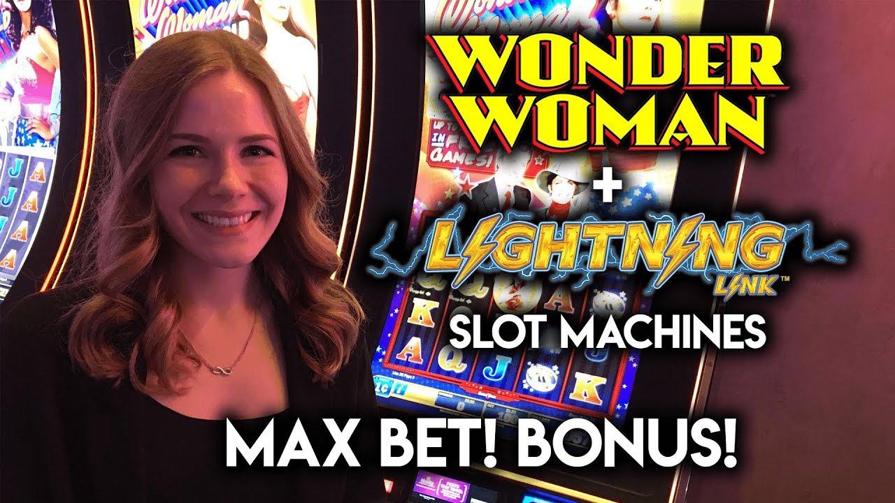 Wonder Woman MAX BET! Patreon Shoutout! Lightning Link BONUS!!!