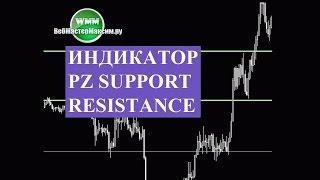 Indicator PZ Support Resistance. Классный инструмент!