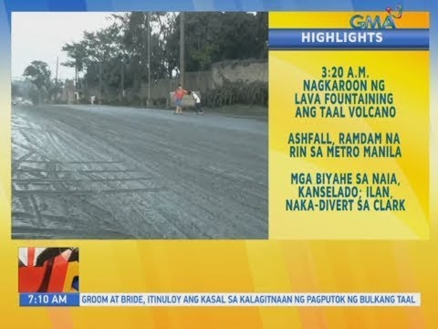 UB: Tagaytay, nabalot