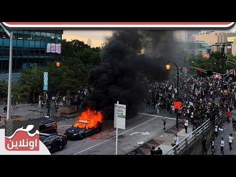 أمريكا الأن - حرائق وسرقات وعنف ضد الشرطة