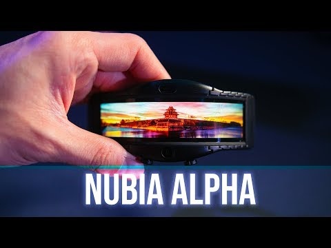 Nubia Alpha: A Flexible OLED on your wrist