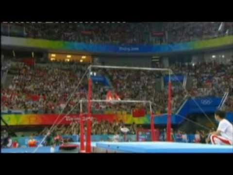 Yang Yilin 2008 Olympics Uneven Bars Event Finals