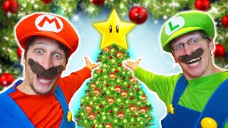Super Mario Christmas In Real Life