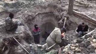 Як бурштин добувають в Олевську