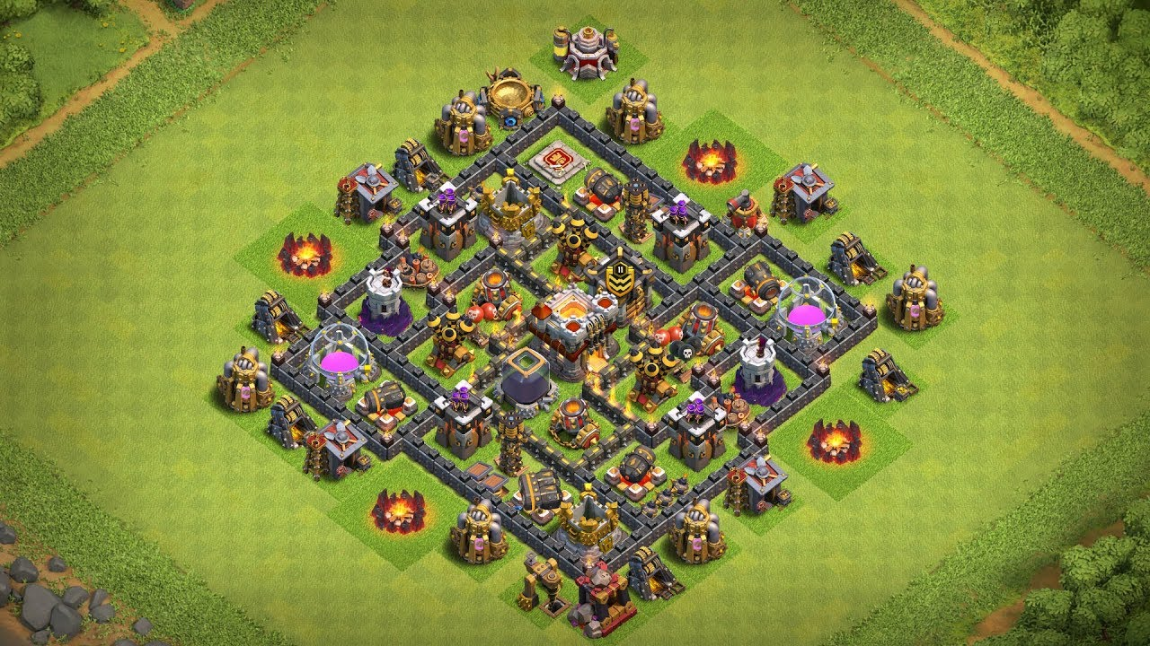Undefeated Coc Th 7 Best Base 8
