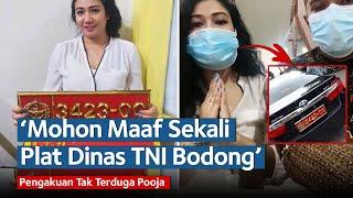 Pengakuan Tak Terduga Pooja, Wanita Cantik yang Pamer Toyota Camry Plat Dinas TNI Bodong