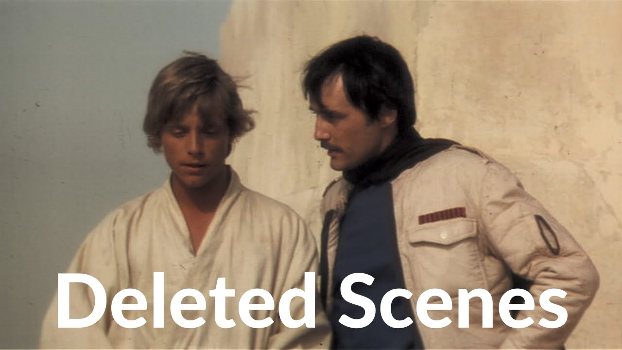 Deleted Scenes Star Wars Episode Iv A New Hope 1977 Youtube