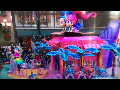 Jojo Siwa performs Kid in a Candy Store at Macy's Thanksgiving Parade