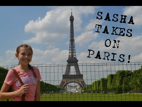 SASHA TAKES ON PARIS!