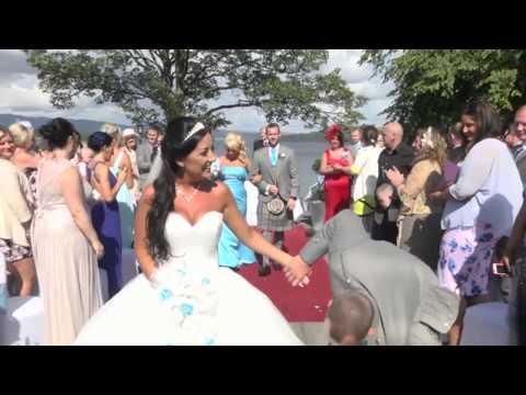 Kerry & Dean   The Cruin, Loch Lomond   Full Wedding   7th August 2014