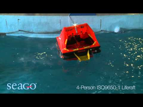 SEAGO 4 Person ISO 9650-1 Liferaft