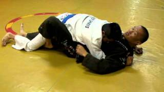 Sweep from Half Guard with Hooked (2011-09-28)
