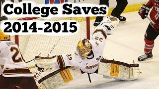 Best College Hockey Saves 2014-2015