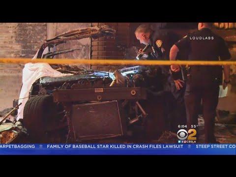 2 Men Killed In Fiery Crash