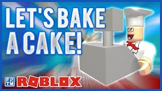 Make a Cake Back for Seconds! Roblox Kid Gaming