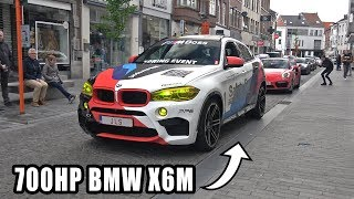 LOUDEST BMW X6M EVER! 700HP with LOUD Akrapovic Exhaust System!