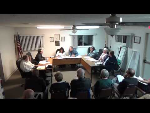 10/19/15 Village of Holiday Hills Board Meeting