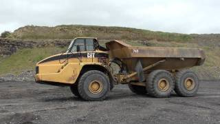 2005 Caterpillar 740 6 Wheel Dump Truck 7540hrs