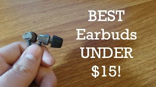 Best Earbuds Under $15! - KingYou Crystal Sound Earbuds Review