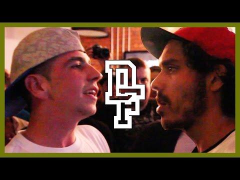 LUNAR C VS MICKY WORTHLESS | Don't Flop Rap Battle