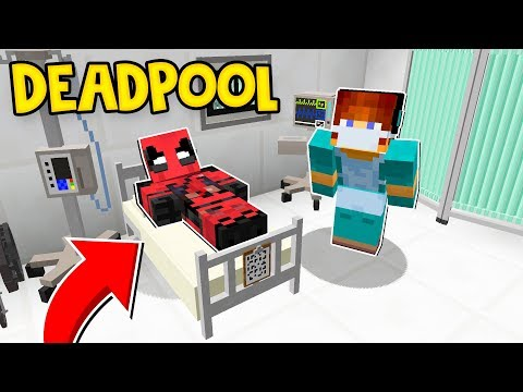 CIRURGIA NO DEADPOOL ! DEADPOOL 2 - O FILME - ( Minecraft Cirurgia Heroes ) thumbnail