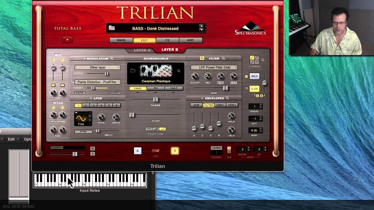 Bass Box: Trillian - PluginGuru com