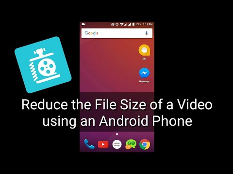 How To Compress Video Files Using An Android Phone
