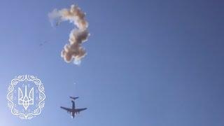 БМД-2 ЗСУ розбилася через передчасне спрацювання ПРС при десантуванні з літака Іл-76