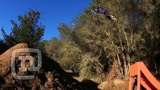 Ryan Nyquist BMX Big Trick Jump Session: Getting Awesome...