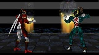 Dual Heroes 64 - GAI vs HOE (John) (Virtual Arcade) [Texture Mod]