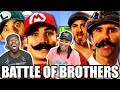[ REACTION ] Mario Bros vs Wright Bros. Epic Rap Battles of History  & Behind The  Scenes‼