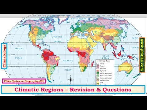 [C33] Climatic Regions Revision - Geography UPSC IAS