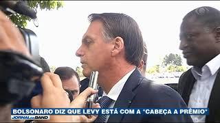 """Bolsonaro diz que Levy está com a """"cabeça a prêmio"""""""