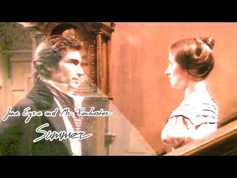 Jane Eyre and Mr. Rochester 1983 | Timothy Dalton and Zelah Clarke | Love story | Summer