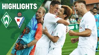 Niklas Füllkrug Doppelpack & Yuya Osako Kopfball | Werder Bremen - SD Eibar 4:0