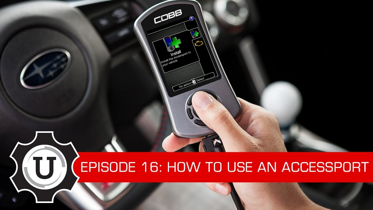 COBB Tuning - COBB University Episode #16 - How To Use an Accessport