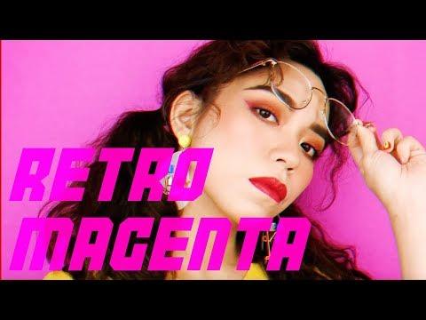 復古桃紅夏日妝容   RETRO MAGENTA SUMMER MAKEUP   Want! magazine - YouTube